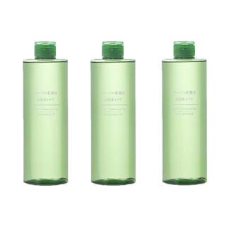 ムジルシリョウヒン(MUJI (無印良品))の無印良品 ハーバル化粧水・高保湿タイプ 400ml(大容量) 3本(化粧水/ローション)