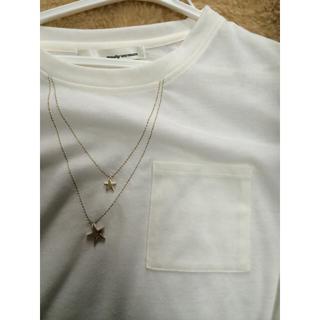ミスティウーマン(mysty woman)のお星様とポケットtシャツ(Tシャツ(半袖/袖なし))