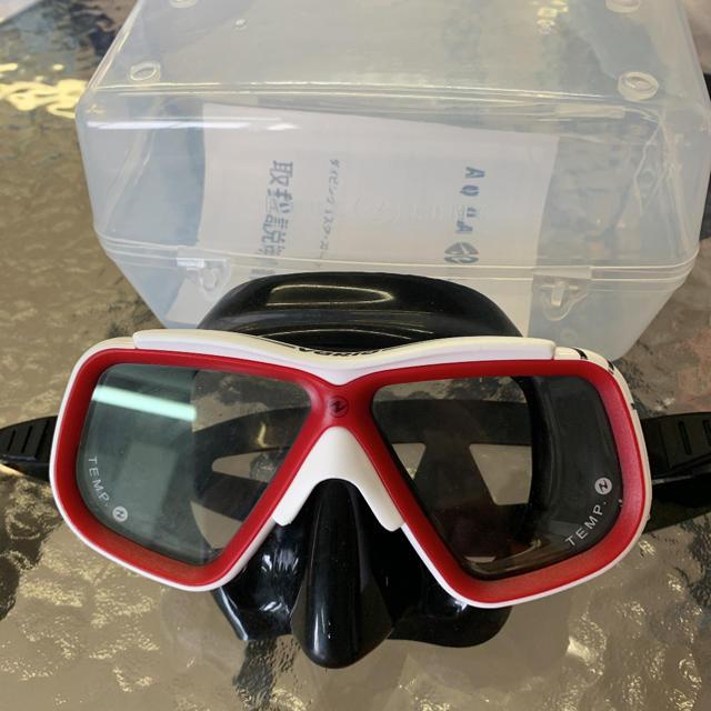 Aqua Lung(アクアラング)のゴーグル ダイビング シュノーケル レディース AQUALUNG マスク スポーツ/アウトドアのスポーツ/アウトドア その他(マリン/スイミング)の商品写真