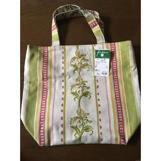 新品タグ付き★ トートバッグ スペイン 日本製 綿 麻(トートバッグ)