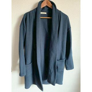 ショコラフィネローブ(chocol raffine robe)のchocolraffinerobe レディース トッパーコート(ガウンコート)