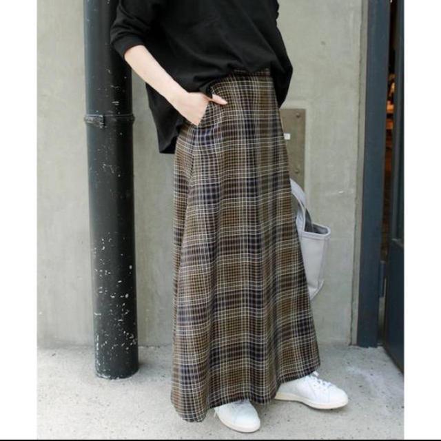 IENA SLOBE(イエナスローブ)のチェックフレアマキシスカート♡ SLOBE IENA レディースのスカート(ロングスカート)の商品写真
