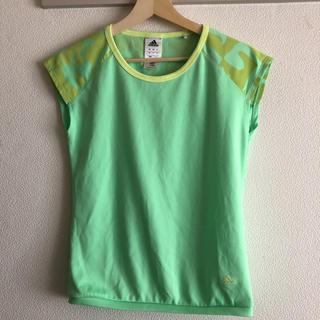adidas - Tシャツ 緑