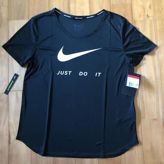 NIKE - NIKE ナイキ DRY-FIT  レディースTシャツ (L) 「新品・タグ付」
