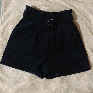 レピピアルマリオ(repipi armario)のrepipi armario 濃紺ショーパン XS ベルト付き(パンツ/スパッツ)