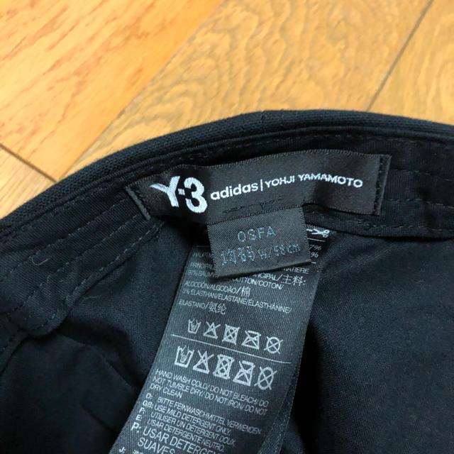Y-3(ワイスリー)のy-3 キャップ adidas メンズの帽子(キャップ)の商品写真