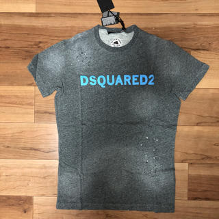 DSQUARED2 - DSQUARED2 ディースクエアード ダメージ ペイント Tシャツ XS