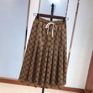グッチ(Gucci)の【GUCCI】GGテクニカルジャージースカート☆ (ロングスカート)