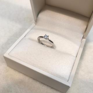 再生ダイヤのピンキーリング sv925  ロジウム(リング(指輪))