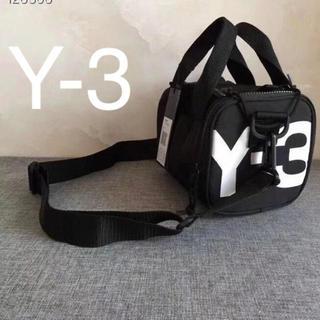 ワイスリー(Y-3)のY-3 ワイスリー ヨージ ミニ ジム バッグ 黒 新品未使用(バッグパック/リュック)