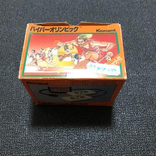 コナミ(KONAMI)のファミコンソフト ハイパーオリンピック ハイパースポーツ ハイパーショット付き(家庭用ゲームソフト)