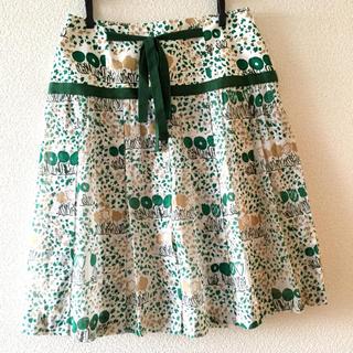 アーティショ(ARTI CHAUT)の美品♡アーティ・ショ 春プリーツスカート(ひざ丈スカート)