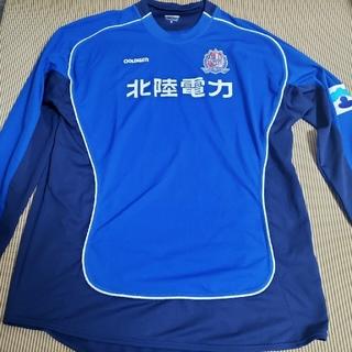 GOLDWIN - カターレ富山選手用トレーニングウェア(長袖・ブルー・Oサイズ)