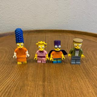 レゴ(Lego)のLEGO レゴ シンプソンズ シリーズ2 4体(積み木/ブロック)
