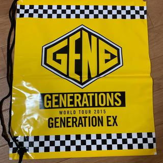 ジェネレーションズ(GENERATIONS)のGENE ライブグッズ(アイドルグッズ)