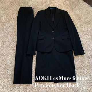 アオキ(AOKI)の【美品】AOKI CanCamコラボ 洗えるストレッチセットアップスーツ(スーツ)