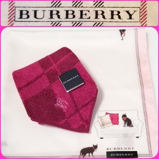 BURBERRY - BURBERRYハンカチ☆タオルハンカチ