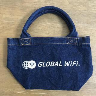 グローバルWiFi デニム ランチバッグ ミニバッグ エコバッグ(エコバッグ)