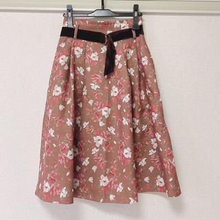 ダズリン(dazzlin)のダズリン オーガストガーデンフラワースカート 花柄スカート ロングスカート(ロングスカート)