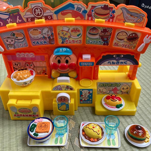 アンパンマン(アンパンマン)のアンパンマン フードコート キッズ/ベビー/マタニティのおもちゃ(知育玩具)の商品写真
