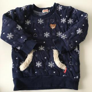 ミキハウス(mikihouse)のいちごみるく様専用 ミキハウス トレーナー  100  (Tシャツ/カットソー)