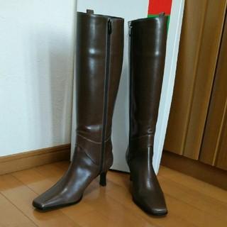 ギンザカネマツ(GINZA Kanematsu)の銀座かねまつ ブーツ 25 カーキ(ブーツ)