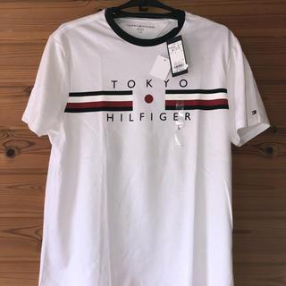 トミーヒルフィガー(TOMMY HILFIGER)のトミーヒルフィガーTシャツ 白L新品(Tシャツ/カットソー(半袖/袖なし))