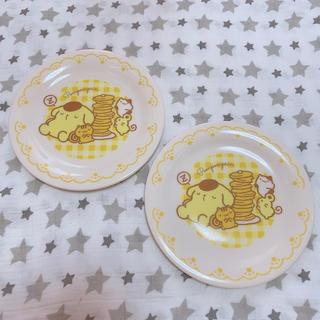 ポムポムプリン(ポムポムプリン)のポムポムプリン パンケーキシリーズ プレート2枚セット(食器)