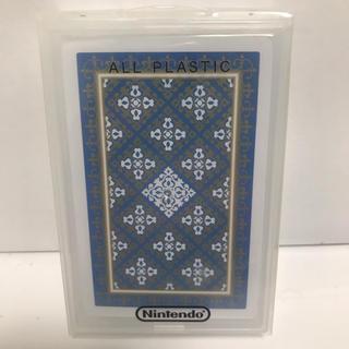 ニンテンドウ(任天堂)の任天堂 Nintendo トランプ プラスチックトランプ(トランプ/UNO)