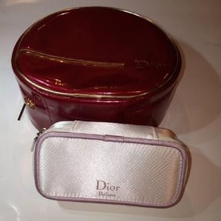 ディオール(Dior)の匿名配送 ディオール ポーチ2個セット(ノベルティグッズ)