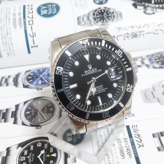 ロレックス(ROLEX)の黒サブDATE16610T:自動巻き【カスタム】(腕時計(アナログ))