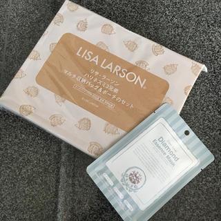 リサラーソン(Lisa Larson)の【新品】クックパッド付録 リサ・ラーソン フェイスパック付(ポーチ)