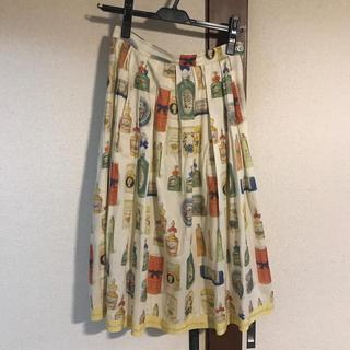 ジェーンマープル(JaneMarple)のSavon du Bonheurs タックスカート(ロングスカート)