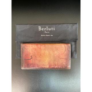 ベルルッティ(Berluti)のBERLUTI ベルルッティ カリグラフィー パティーヌ レザー 財布(長財布)