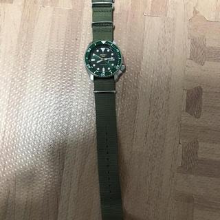 セイコー(SEIKO)のきんた様 専用 SEIKO5スポーツ グリーン SBSA013(腕時計(アナログ))