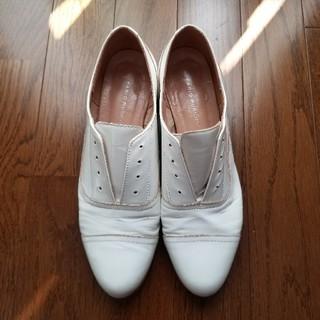 ファビオルスコーニ(FABIO RUSCONI)のファビオルスコーニ ホワイトローファー(ローファー/革靴)