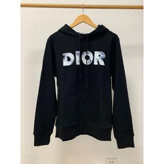 ディオール(Dior)のDior◆ロゴ入り コットンフリース パーカー DANIEL ARSHAMコラボ(パーカー)