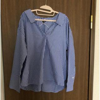 リシェグラマー バックリボン チェックシャツ(シャツ/ブラウス(長袖/七分))