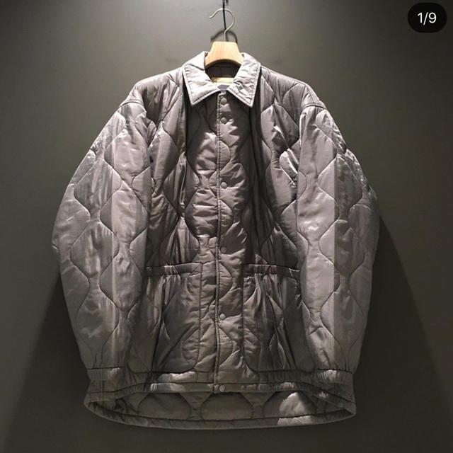 BEAMS(ビームス)の希少 beams ssz キルティング コーチジャケット グレー M メンズのジャケット/アウター(ナイロンジャケット)の商品写真