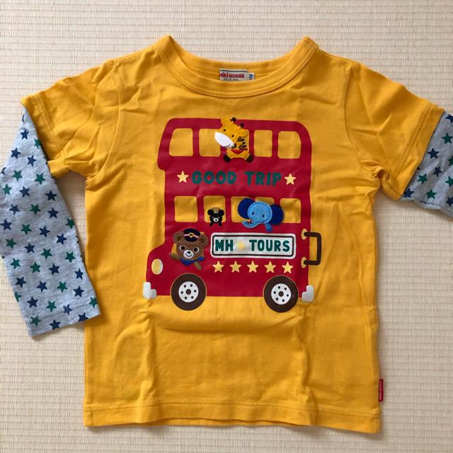 mikihouse(ミキハウス)のカットソー、ロンT【MIKIHOUSE】 キッズ/ベビー/マタニティのキッズ服男の子用(90cm~)(Tシャツ/カットソー)の商品写真