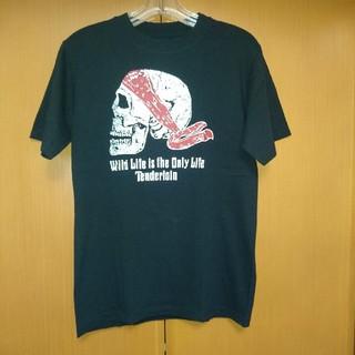 テンダーロイン(TENDERLOIN)のテンダーロイン  バンダナ  スカルTシャツ  S(Tシャツ/カットソー(半袖/袖なし))
