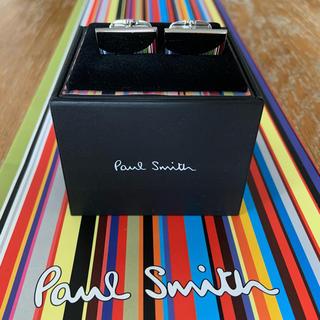 ポールスミス(Paul Smith)のPaul Smith カフリンクス 鏡面仕上げ マルチストライプデザイン(カフリンクス)