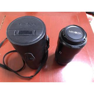 コニカミノルタ(KONICA MINOLTA)のMINOLTA AFレンズ70-210(レンズ(ズーム))