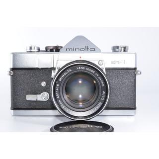コニカミノルタ(KONICA MINOLTA)のミノルタ Minolta SR-1 35mm #1171【入門用・モルト交換済】(フィルムカメラ)