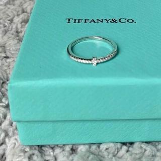 Tiffany & Co. - ティファニーTワイヤーリング♡8号