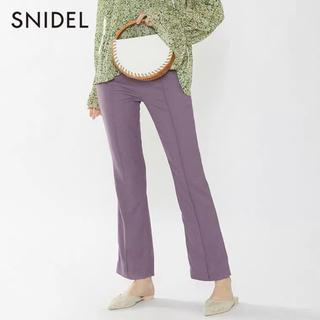 スナイデル(snidel)の新品タグ付きSNIDELリネンライクストレートパンツ(その他)