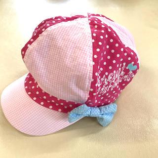 ライトオン(Right-on)の 子供 キッズ 帽子 ハット ピンク54cm (帽子)