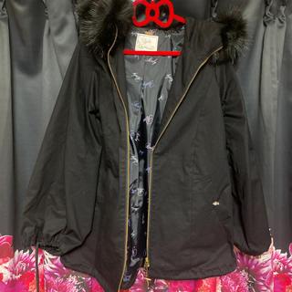 レディー(Rady)のRady ミリタリージャケット コート ブラック(ミリタリージャケット)