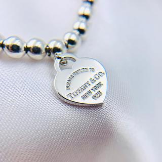 Tiffany & Co. - 美品☆ティファニー ボールチェーン ブレスレット