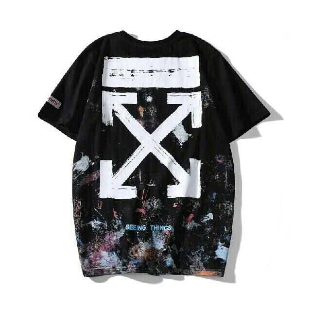 OFF-WHITE(オフホワイト)のS42  OFF-WHITE Tシャツ メンズのトップス(Tシャツ/カットソー(半袖/袖なし))の商品写真